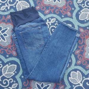 Sz 18 Maternity VGUC Old Navy Jeans Ankle Skinny